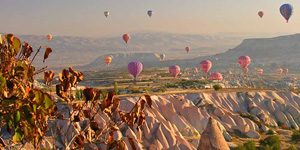 Cappadocia budget tours by bus hot air balloons