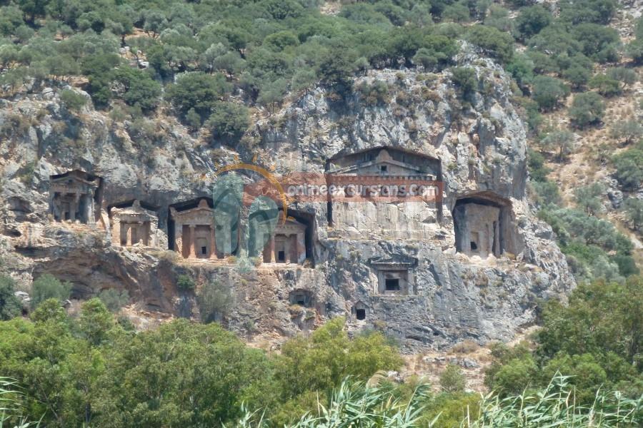 14 Days Istanbul Cappadocia Antalya Fethiye- Pamukakle Ephesus By Plane By Bus