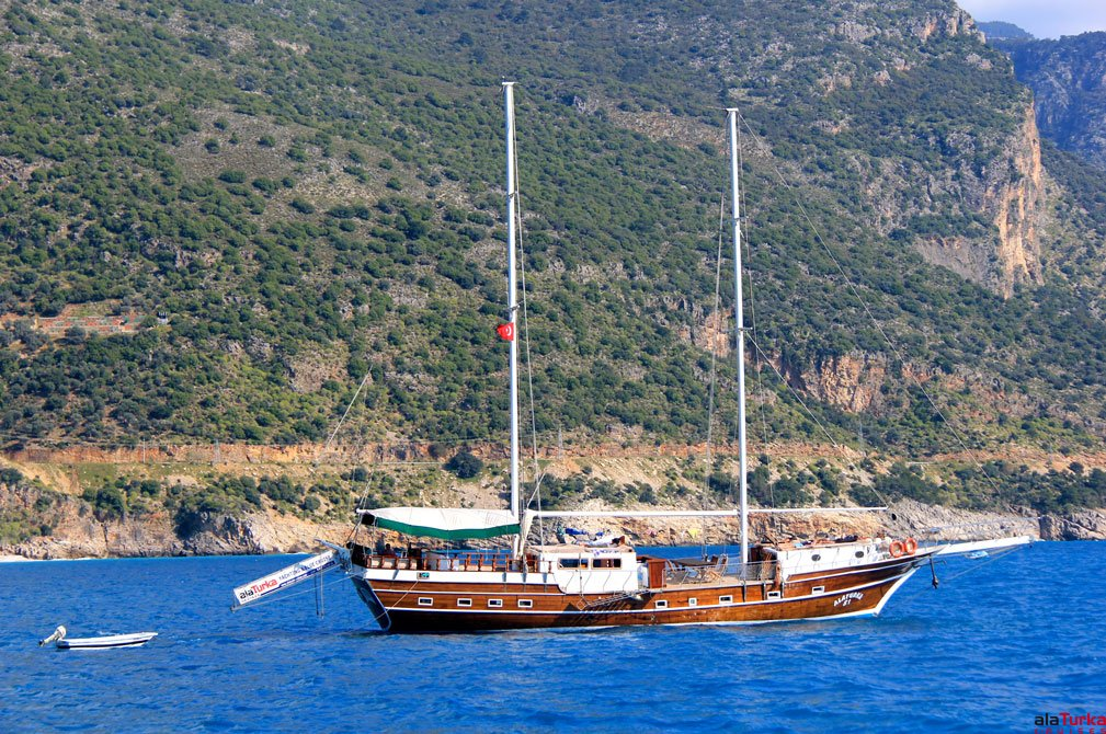 3 DAYS KAS TO FETHIYE BLUE CRUISES