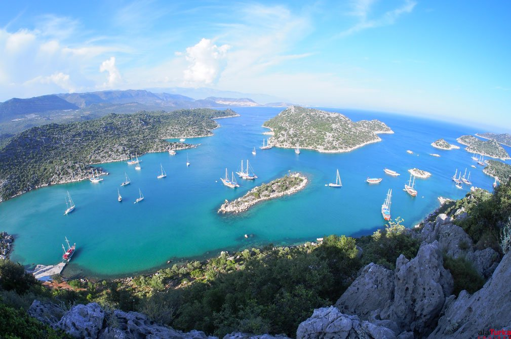 3 DAYS KAS TO OLYMPOS BLUE CRUISES