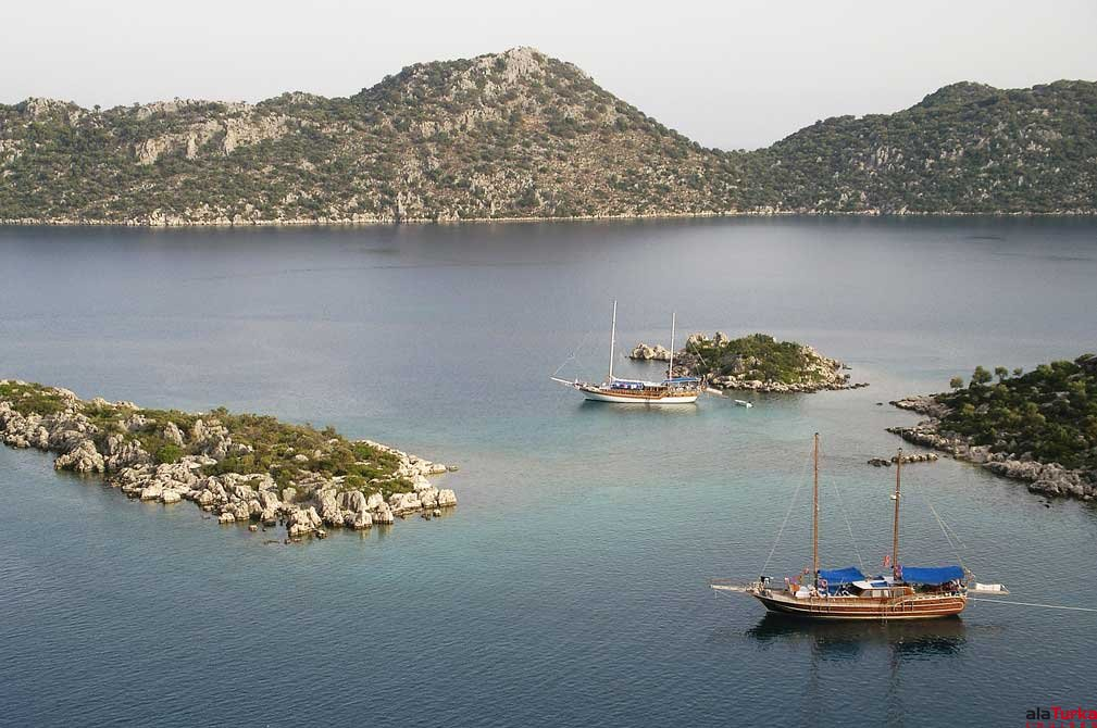 8 DAYS OLYMPOS TO FETHIYE TO OLYMPOS BLUE CRUISES