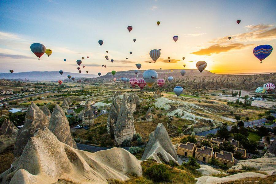 5 Days Ephesus Pamukkale Cappadocıa By Plane