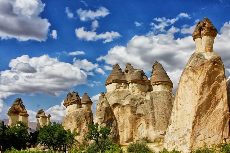 3 Day Antalya - Cappadocia Tour by Plane