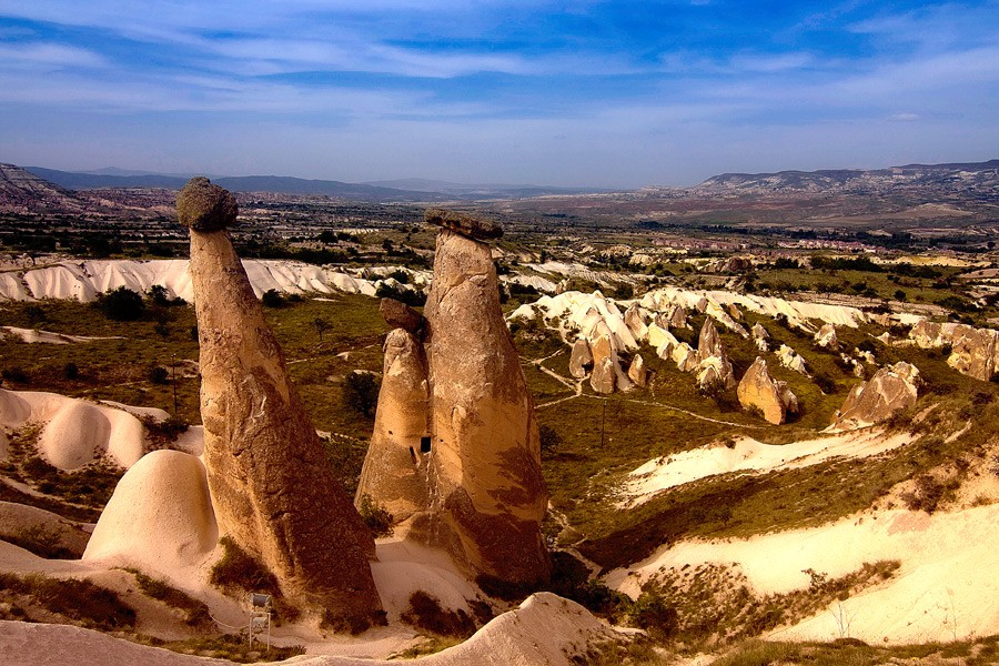 3 Day Antalya - Cappadocia Tour  By Bus By  Plane