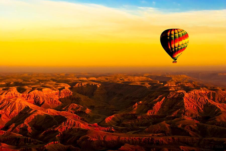 Hot Air Balloon Ride in Luxor, Egypt