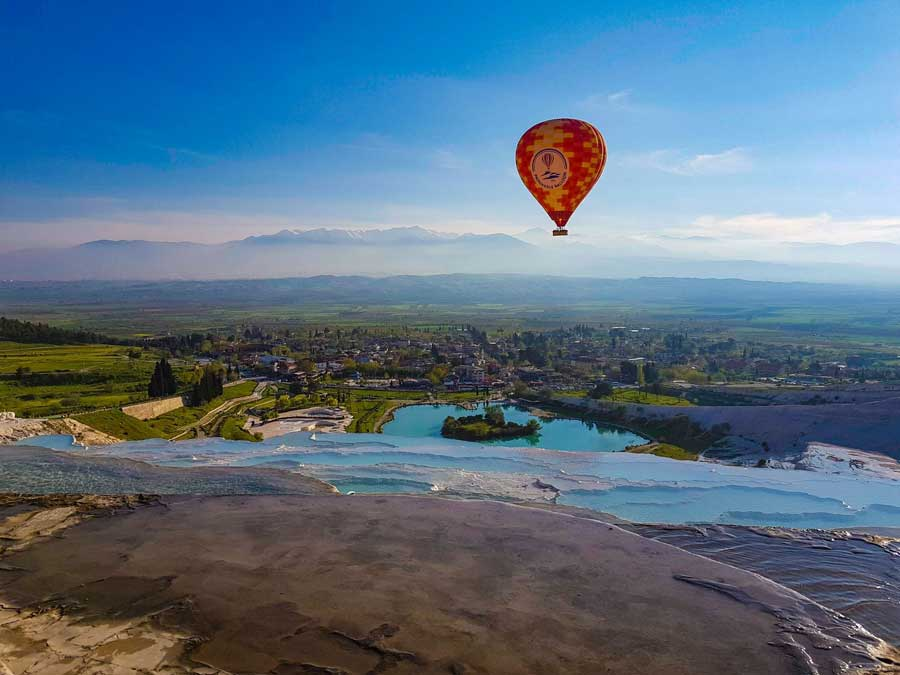 Pamukkale Hot-Air Balloon Tour at Sunrise